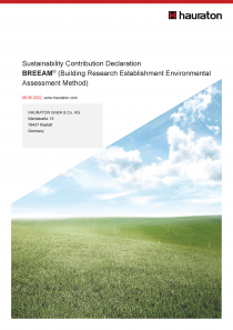 BREEAM Basic Document (DRAFT version)