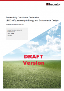 LEED Basic Document (DRAFT version)